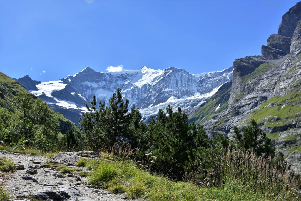View of Mountains in Grindelwald